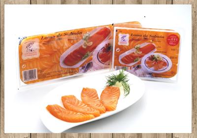 lomo de salmón ahumado dominguez